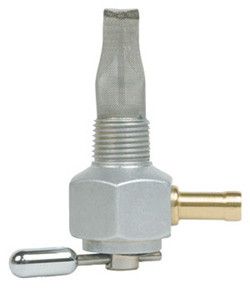 "Single Outlet On/Off Only Hex Valve-3/8"" NPT- 6000 Series-5/16"" hose barb-Aluminum"