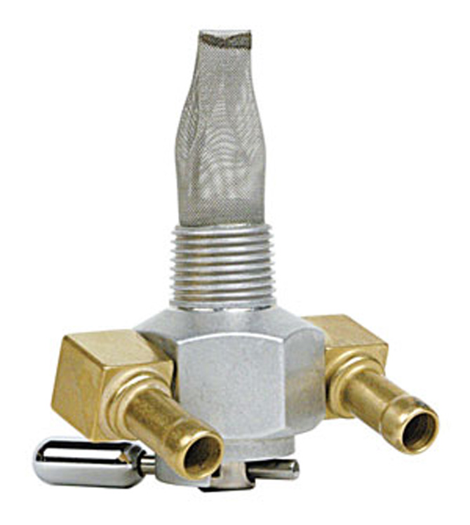 Pingel Dual Outlet On/Off Only Hex Race Valve-3/8