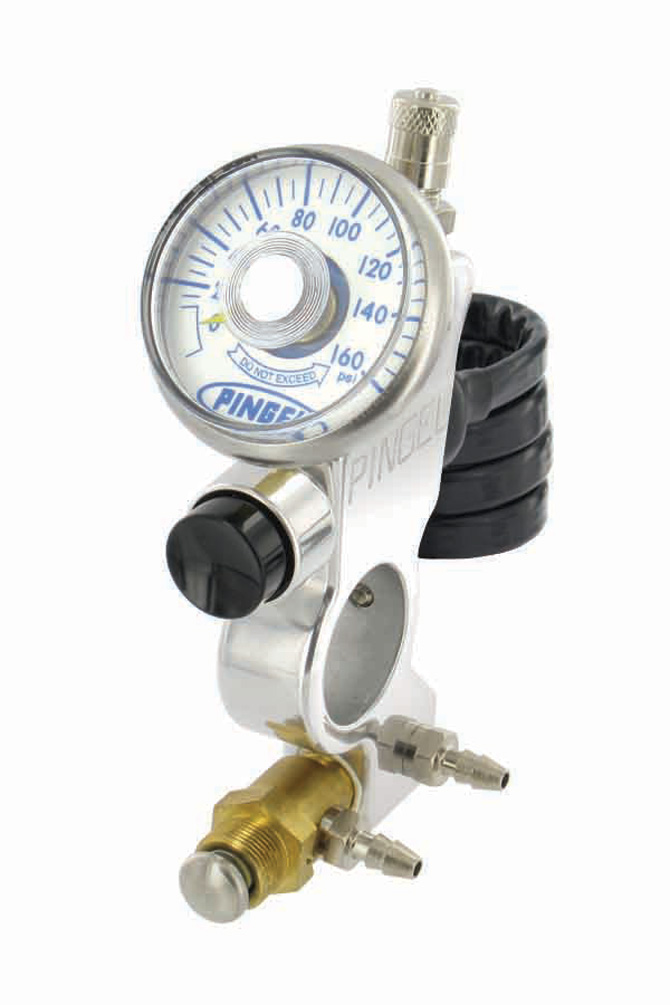 Electric and Air Button Control with Filler and Gauge
