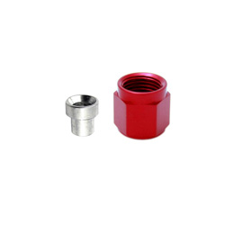 NX Fitting D-3 B-Nut and Sleeve (Red)