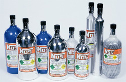 NOS Bottle Empty 2 lb. Polished
