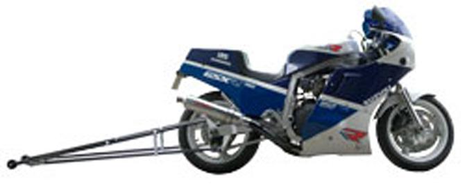 PINGEL® Suzuki GSXR750/GSXR1100 Wheelie Bars