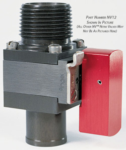 "NV™ Nitro Fuel Valve, 1"" NPT Inlet/-12AN Male Thread Outlet"