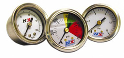 Gasoline Pressure Gauge (0–15 psi w/Adapter)