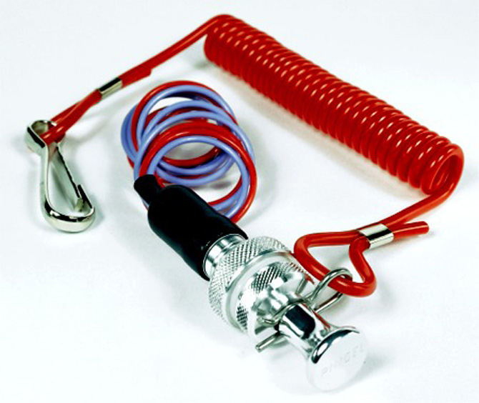 Panel Mount Safety Kill Switch (Normally Open Circuit)
