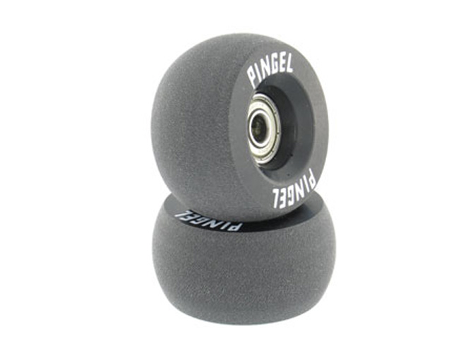 Pingel Drag Bracer Bar Wheels, Convex, Black