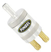 Inline SS Fuel Filter Satin 1 In 2 Out
