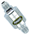 Inline SS Fuel Filter Chrome -6AN/ -6AN