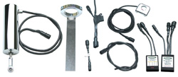 "Universal Electric Speed Shifter Kit - 7/8"" Handlebars - One to Four Coil"