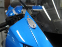 Mirror Block Off Plates - Kawasaki ZX6R 2009-2012 and Ninja 300 2013-2014